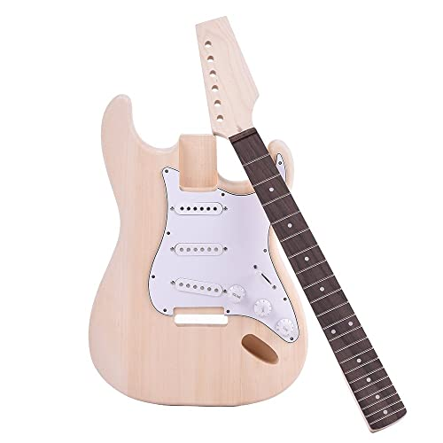 Sensible Diy Rosewood Fingerboard Body Neck High Standard In Quality And Hygiene Sports & Entertainment