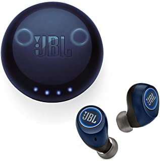 JBL Free X True Wireless in-Ear Headphones with Built-in Remote and Microphone - Blue