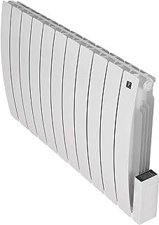Deltacalor - Radiador eléctrico de inercia fluida Telica entallada 1800 W Controles TÁctiles DeltadoreTM, instalación en pared, programable para calentar habitaciones de hasta 20 m2