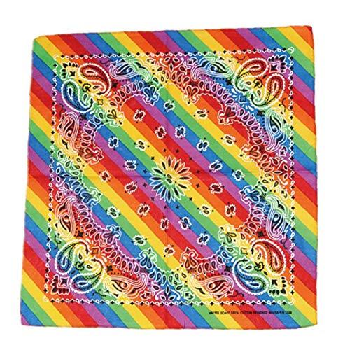 LAVALINK Raya del del Pañuelo del Pañuelo Cuadrado De La Bufanda para La Celebración De Fiesta del Orgullo Gay Accesorios Día