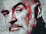 Posters-Galore Sean Connery Scottish Film ICON Art Print