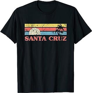 Santa Cruz Années 70 Années 80 Rétro Vintage Été T-Shirt