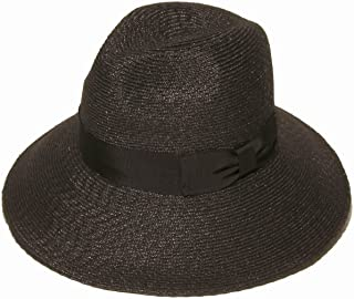 Gottex Women's Alhambra Packable Fedora Sun Hat, Rated UPF 40 for Excellent Sun Protection