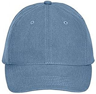 Comfort Colors Pigment-Dyed Canvas Baseball Cap (104) Seafoam Blue, OS