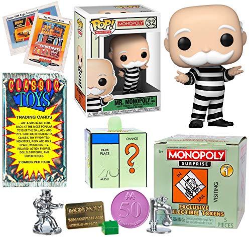 Doubles Pop! Mr. Monopoly Figure Exclusive Icon Bundled with Classic Retro...