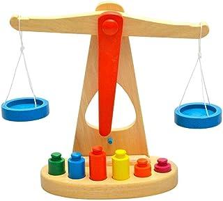The Wooden Balance Scale Montessori Toy - 2724457100882 , 2724457100882