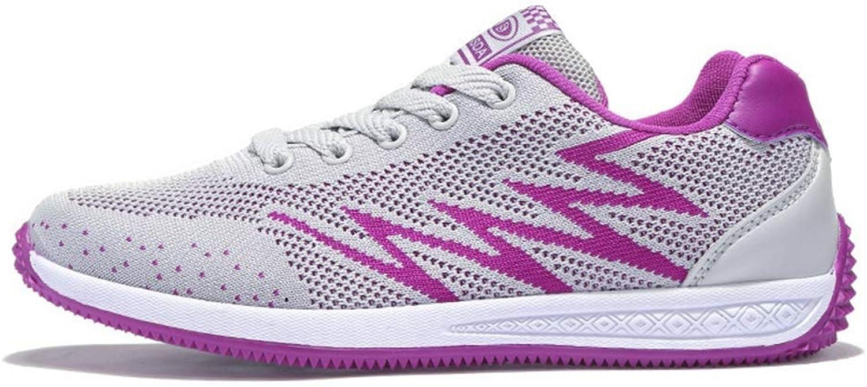 Elsa Wilcox Kvinnor som är atletiska lättvindiga lättvindiga lättvindiga skor maska Soft Sole Casual Non Slip ljusljus gående skor springaning skor skor  billig