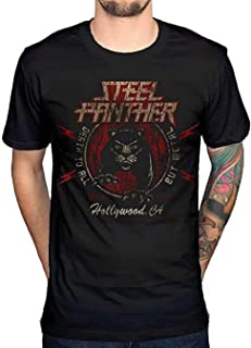 Steel Panther Death to All But Metal Men's Fashion T-Shirt