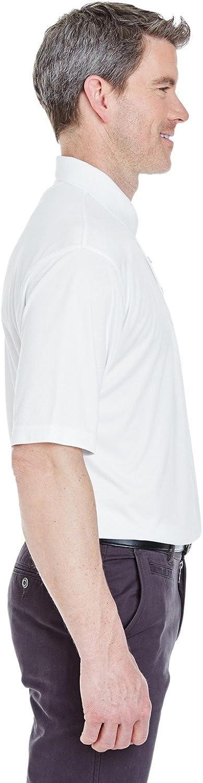 UltraClub Men's Cool & Dry Sport Interlock Polo Shirt