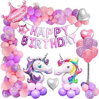 MMTX Unicornio Decoracion Festa de Cumpleaños Niña, 46