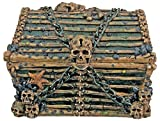 SUMMIT BY WHITE MOUNTAIN Davy Jones Chest Collectible Pirate Decoration Skeleton Container