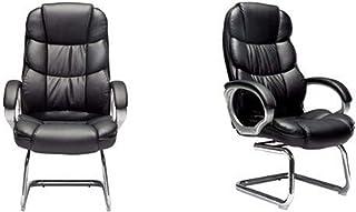 Las sillas de Escritorio con Respaldo Alto Silla de Oficina giratoria de Arco del Asiento del Juego Silla Silla de la Protuberancia para la Oficina, Estudio (Color : C2, Size : One Size)