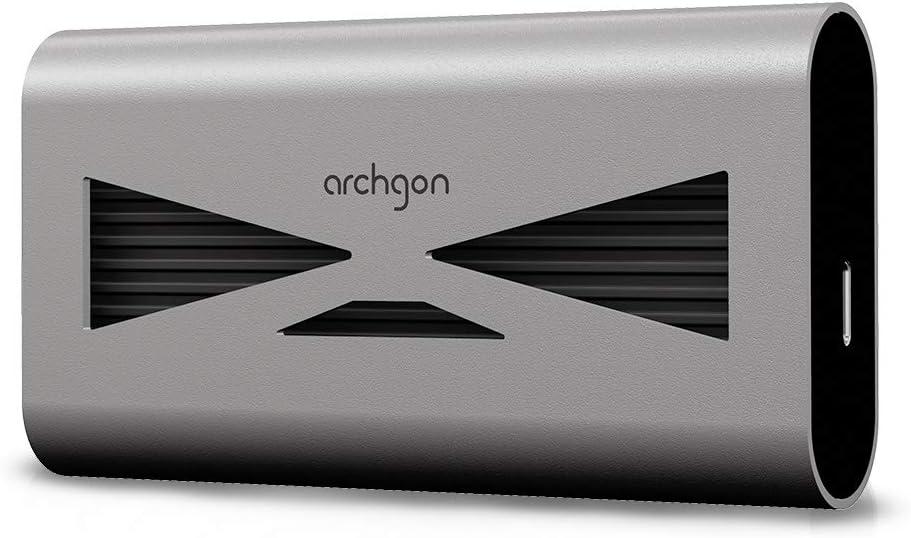 archgon USB 3.2 Aluminum External SSD New arrival NVMe Portable S Baltimore Mall M.2 Gen3x4