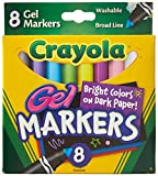 Crayola 8 Count Gel FX Washable Markers - 2 Packs