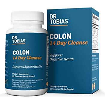 Dr. Tobias Colon 14 Day Cleanse Supplement, 28 Capsules