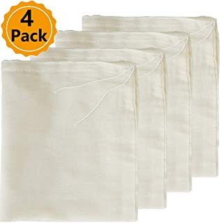 Reusable /& Washable by The Display Guys 24-Pack 100/% Cotton 12x16 Canvas Muslin Gift Laundry Grocery Dust Bags w Drawstring