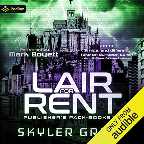 Lair for Rent: Publisher's Pack audiobook cover art