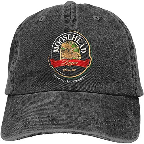 Avtong Unisex Moosehead Beer Cool Adult Adjustable Denim Cowboy Hat Casquette