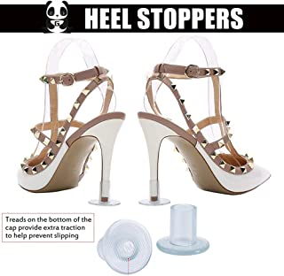 Heel Stoppers High Heel Protectors for Women's Shoes, Small/Middle/Large [3pairs, by Greatmaster]
