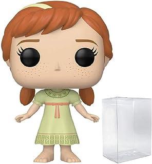 Funko Frozen 2 - Young Anna Pop! Vinyl Figure (Includes Compatible Pop Box Protector Case)