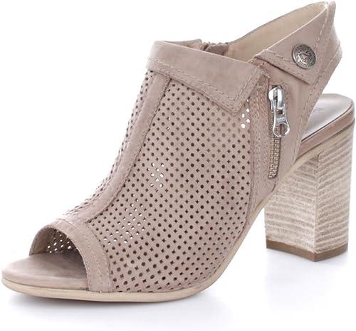 negro Giardini - Sandalias de vestir para mujer Beige Tortora