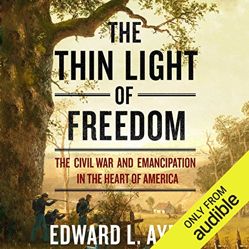 Couverture de The Thin Light of Freedom