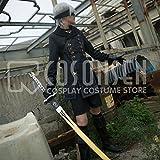 COSONSEN ニーアオートマトンニーアオートマタ9S(ヨルハ九号S型)コスプレ衣装修正版(女性S)