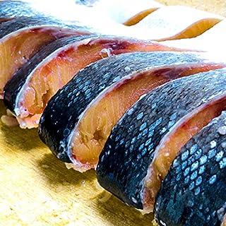 ウオス(札幌の水産直営店 進風水産) 幻の高級魚 時不知 (トキシラズ) 切身加工済 [厚切10切れ] 鮭 ギフト贈答 冷凍