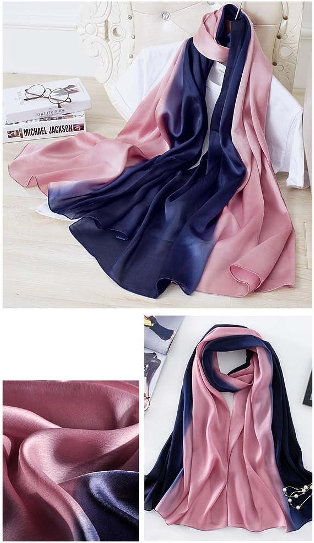 Silk Ms. Scarf Spring Summer New Beach Towel (Length  180Cm Width 90Cm), 2