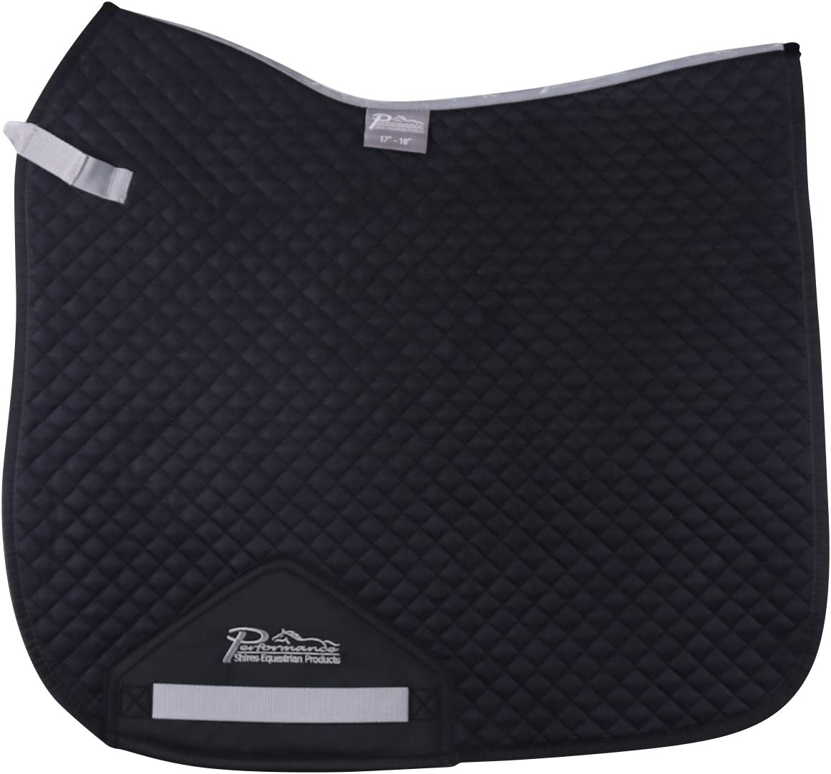 Shires Performance Suede Pad 至上 Dressage (人気激安)