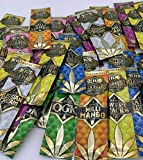 30 Packs Billionaire Hemp Wraps Variety Pack Blueberry, Mango, Sweet, Pink Lemonade, OGK, Natural, Russian Cream