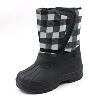 Ska-Doo Cold Weather Snow Boot 1319 Checker Size Big Kid 5