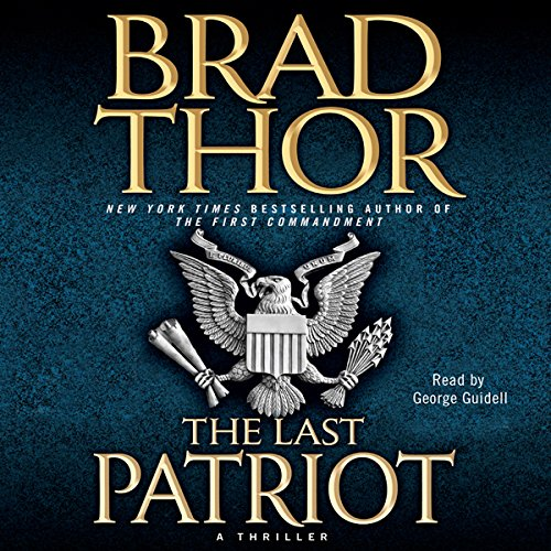 The Last Patriot audiobook cover art