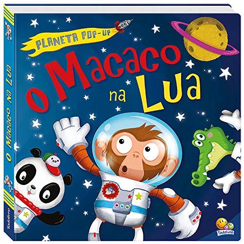 Planeta pop-up: O macaco na lua