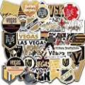 35 PCS Set of Vegas Vinyl Golden Knights Stickers Pack Vegas Decal Golden Knights 2-2.5 inches from LUMASERIES