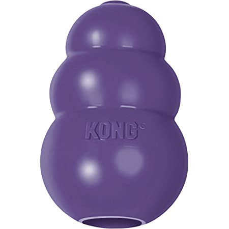 KONG - Senior Dog Toy Gentle Natural Rubber - Fun to Chew, Chase and Fetch