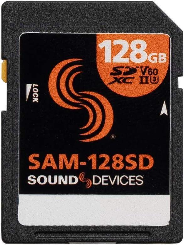 Sound Devices SAM-128SD (128GB SD Card)