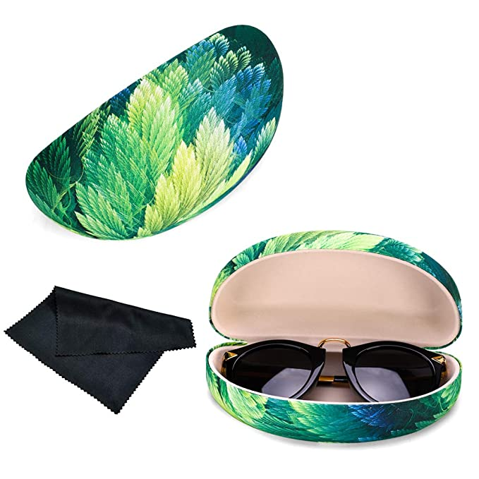 Durable Protective Holder for Extra Large Reading Glasses PG6 FF1 Oversized Hard Shell Sunglasses Case