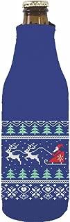 Coolie Junction Christmas Sweater Beer Bottle Coolie