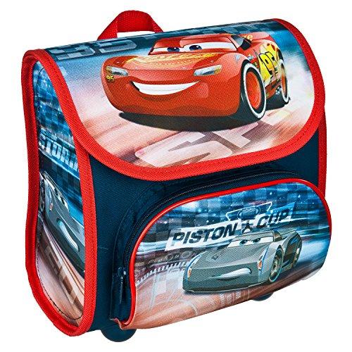 Scooli CAAD8240 - Vorschulranzen Cutie mit Klettverschluss, ergonomisch, leicht, Disney Pixar Cars, ca. 4,5 Liter
