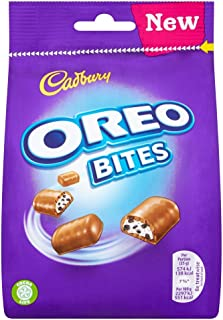 Original Cadbury Dairy Milk Oreo Bites Bag Imported From The UK England The Very Best Of British Candy Cadbury Oreo Bites Chocolate Packet, 110g