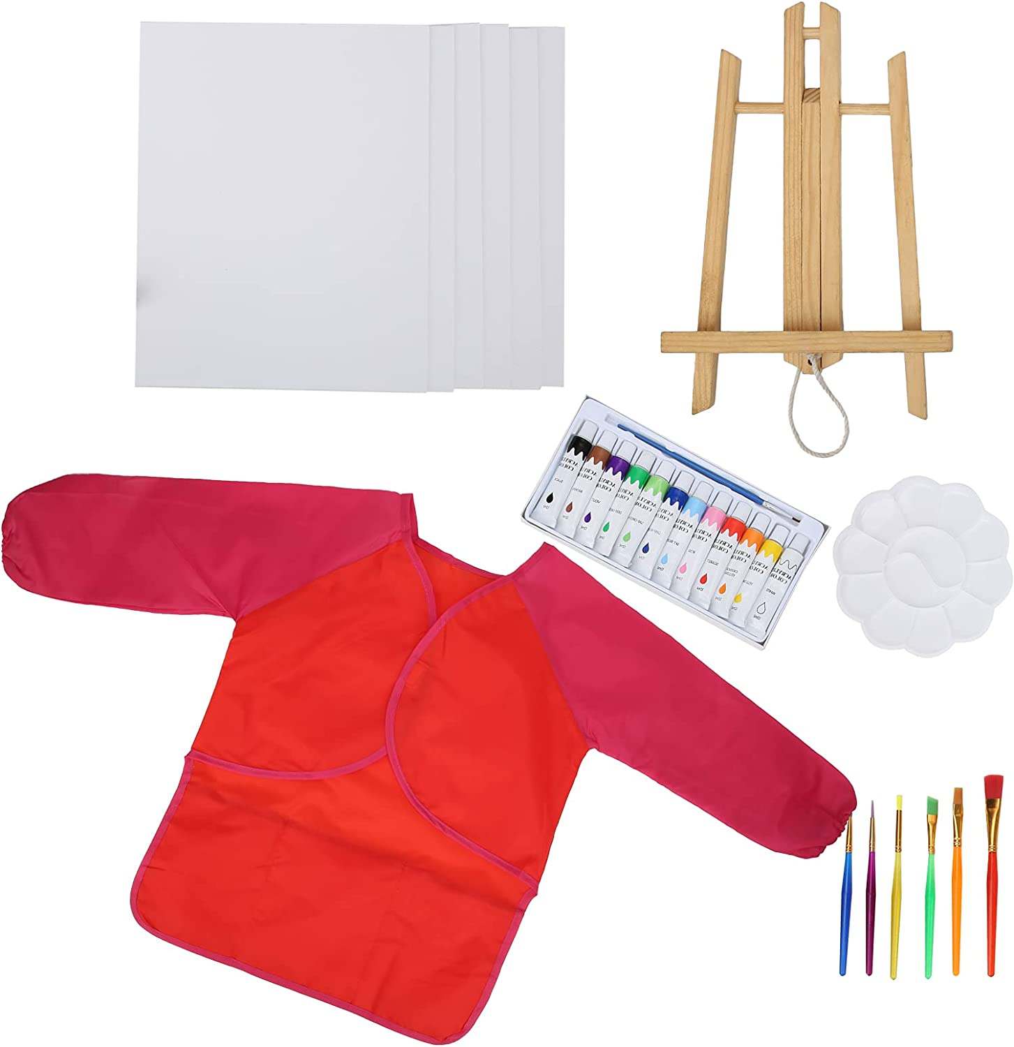 Max 57% OFF DIY Acrylic Paint Set Designed Arlington Mall Kids P for Quality Brushes