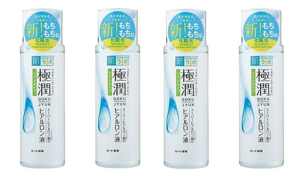 冷凍庫マットレス行政【まとめ買い】肌ラボ 極潤ヒアルロン液 ライトタイプ 170ml×4個