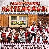 Volkstümliche Hüttengaudi (inkl. Annemariechen, Rock mi, Helikopter, Auf die Bänke fertig los, Ziwui ziwui, uvm.)