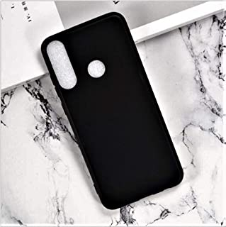 Huawei Y6s Case Cover Premium Ultra Thin Slim Soft Silicon Rubberized Matte Cover Case Cover for Huawei Y6s (Matte Black) ...