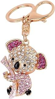 Cute Koala Bear Rhinestone Keychain Bling Keyring Handbag Purse Charm Pendant Gift