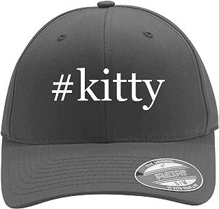 #Kitty - Men's Hashtag Flexfit Baseball Cap Hat