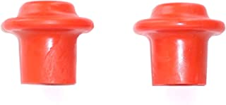 Ladder-Max Orange Replacement Tips (2 Tips Per Pack) for use on All Stand-Off/stabilizers