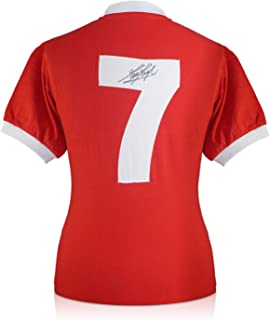 Kevin Keegan Signed Liverpool 1973 Number Seven Soccer Jersey