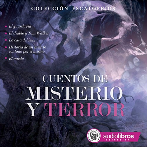 Cuentos de Misterio y Terror [Tales of Mystery and Terror] audiobook cover art